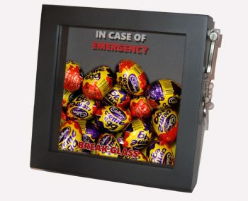 Easter Present Emergency Gift. In Case Of Emergency, Break Glass.